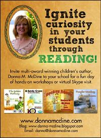 Children's Author School Visits, Donna McDine